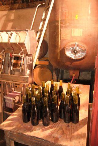 Mise en bouteille 2008
